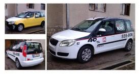Škoda Roomster – IN Taxi